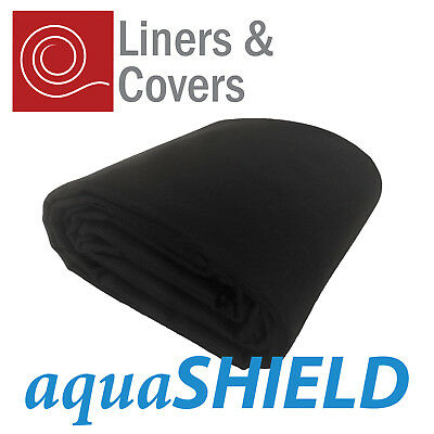 300gsm Black Pond Liner Underlay | aquaSHIELD geotextile | Rot Free Protection