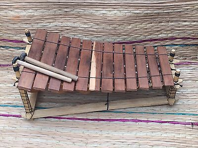 Genuine African Wooden 12 Key Xylophone - Fair Trade from Ghana