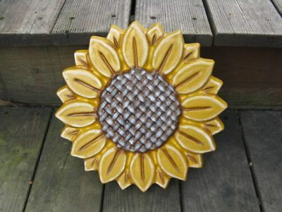 """Sunflower Stepping Stone Concrete Mold plaster Cement mold plastic ABS 12"""""""
