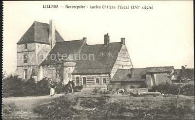11929045 Lillers Beaurepaire ancien Chateau Feodal XVI siecle Lillers