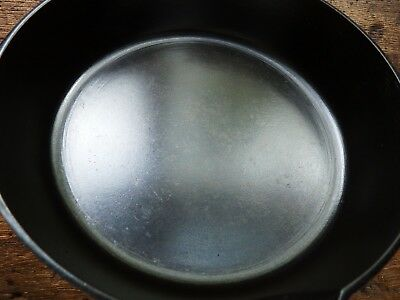 Vintage GRISWOLD Cast Iron SKILLET Frying Pan # 5 SMALL BLOCK LOGO - Ironspoon