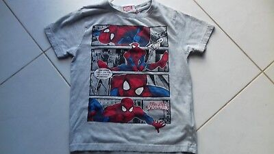 t-shirt spiderman Marvel taille 8 ans