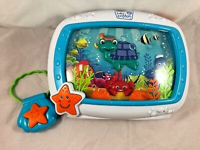 Baby Einstein Sea Dreams Crib Soother Model 90609 Remote & Hang Bracket Music