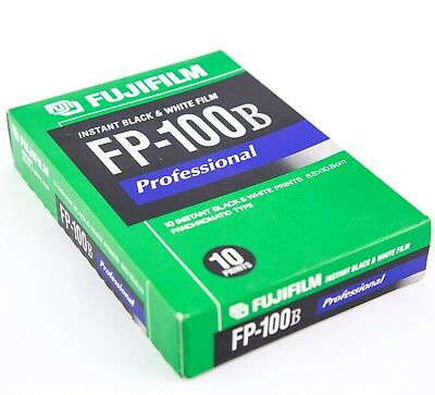 Fujifilm FP-100B Professional Black and White instant film Fuji Polaroid