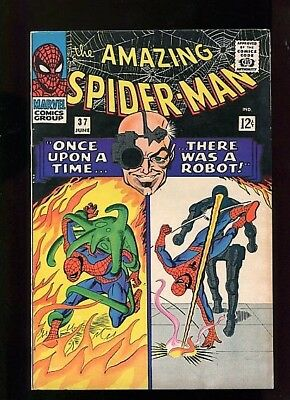 Amazing Spider-Man  #37 (1967)  8.5  Ow/white Pages Super Nice Higher Grade
