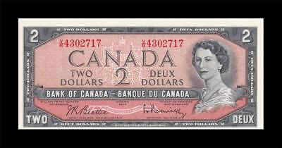 1954 BANK OF CANADA QEII $2 **Beattie & Rasminsky** (( GEM UNC ))