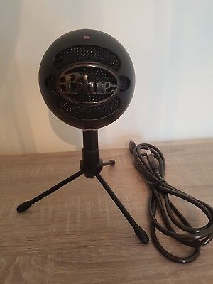 BLUE Snowball ICE Black plug and play USB microphone (Great condition)