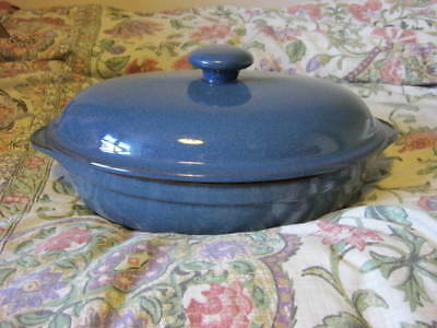 Denby Boston Large Oval Roasting Dish with lid