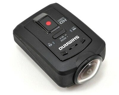 Shimano Sport Camera CM-1000 HD 1080 86g WiFi Ant+ Water Resistant D-Fly