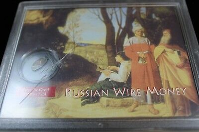 Russia  wire money coin   lot H 799