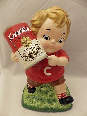 Campbell's Soup kid - Cookie Jar - 12 1/2 inches tall, dated 2005 - EUC