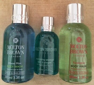 Molton Brown - Water Mint, Eucalyptus, Energising Seamoss Body Wash