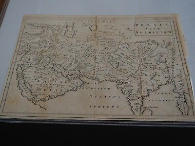 Antique Map:  Persia Sive Shahistan-1747