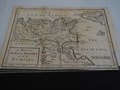 Antique Map: A Map of Africa Propria and Numidia