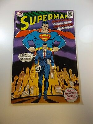 "Superman #201 VG- condition ""subscription crease"" Huge auction going on now!"