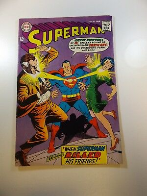 Superman #203 FN- condition Huge auction going on now!