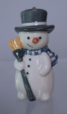 Royal Copenhagen Snowman Christmas Ornaments #735 Denmark