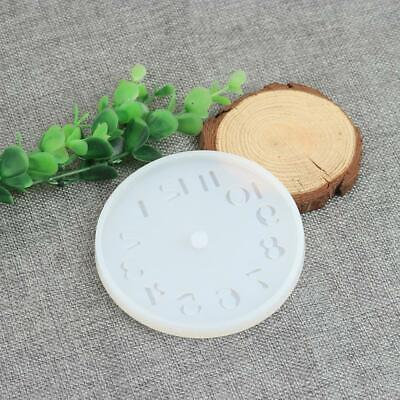 Silicone Mould for Resin Clock Face