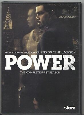 Movie DVD - POWER The Complete First Season - Pre-Owned - Starz