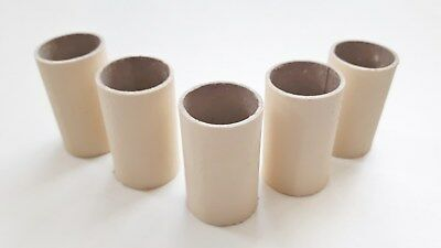 5 chandelier candle tubes magnolia card 50mm x 26mm bulb holder covers sleeves