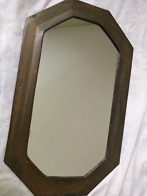 Brass Wall Mirror