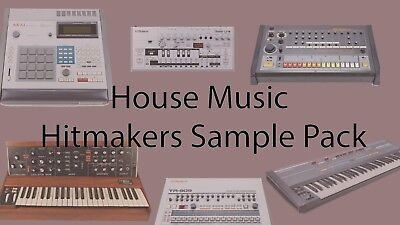 House Music Hitmakers Sample Pack. (Perfect for Deep House, TechHouse, 2GB)