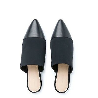 Country Road - Black Neoprene Mule Flats size 39. Sold out! Worn a few times.EUC