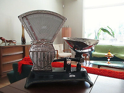 Antique Candy  Scale Jacobs Brothers 4 Lbs