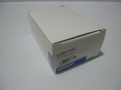 NEW Omron S82K-00305 Power Supply, Input 100-240VAC 0.15A, Output: 5VDC 0.6A DIN