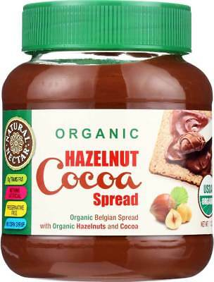 Natural Nectar Spread Organic Hazelnut Cocoa 13 Oz Pack of 6