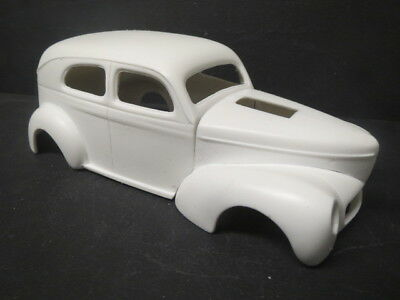 41' Willys 4 Door Sedan 1/25 Resin Body from Fremont Racing Specialties