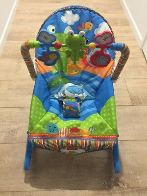 Fisher Price - Blue Rocking Chair