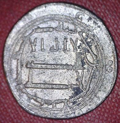 What Is It? - Enigmatic Silvered Jeton Or Token Unknown Origin / Purpose - *4738