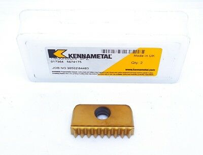 x1 Kennametal TM30N 8UN Carbide Inserts SFZ Thread Milling Tip