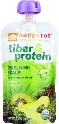 Happy Tot Toddler Food Organic Fiber And Protein Stage 4 Pear Kiwi … Pack of 8