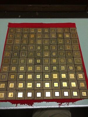 100 386 960 Processor Scrap Gold Cpu Recovery Healthy Old 80's Stuff