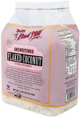 Bob'S Red Mill Flaked Coconut (Unsweetened) 12 Oz Pack of 1