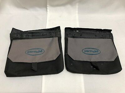 Permobil 3G Arm Rest Pouch's for Power Wheelchair 1 Pair