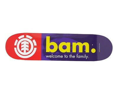 "Element - Bam Welcome 8.25"" Skateboard Deck"