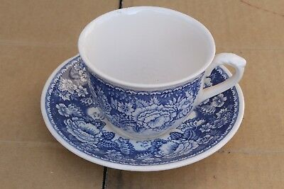 Antique Mason's cup and saucer for Crabtree & Evelyn, London