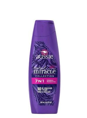 Aussie Total Miracle Collection 7N1 Shampoo 12.10 oz