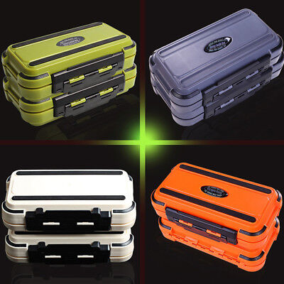 FX- 24 Compartment 2 Layer Waterproof Fishing Lure Bait Tackle Storage Box Case
