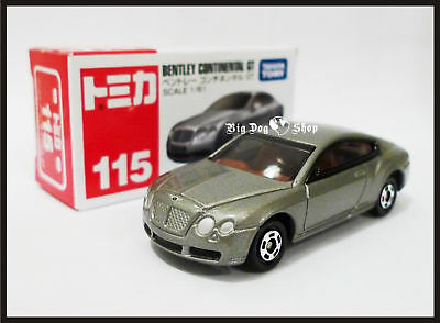 Tomica 115 Bentley Continental Gt 1/65 2010 New Model Tomy