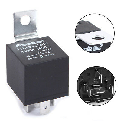 Car 5Pin 40A Long Life Automotive Relay Normally Open Waterproof Accessory 12V