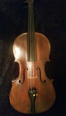 Old Antique French Violin 1800's