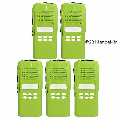 Lot 5  Green Limited-Keypad Housing Cover Case for Motorola HT1250 2Way Radio