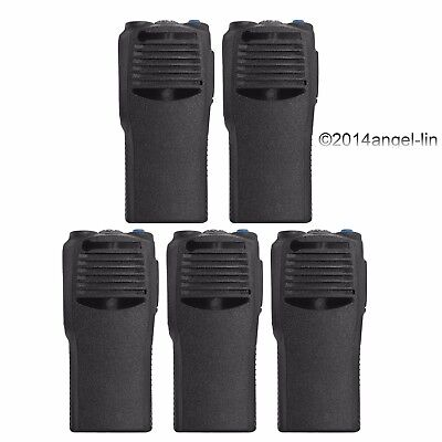 Lot 5  Black Replacement Housing Cover Case Kit for Motorola CP200 2Way Radio