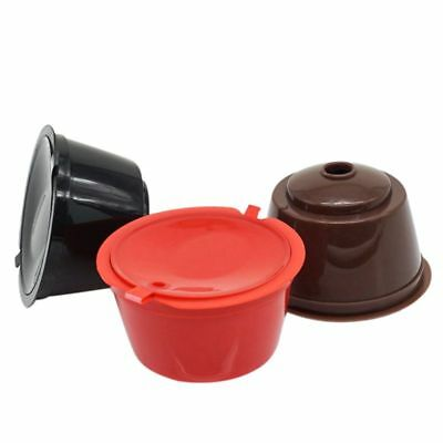 3 Pack Dolce Gusto Refillable Coffee Capsules Reusable Pods Filters Compati A5K1