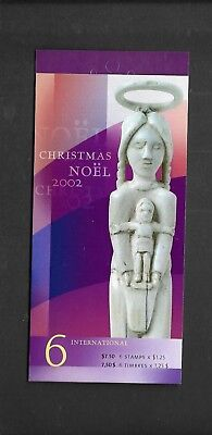 pk35854:Stamps-Canada #BK264b Christmas 6 x $1.25 Booklet - MNH