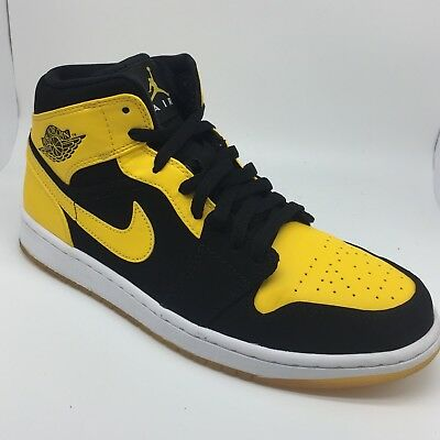 273d8ef73147b1 ... coupon for nike air jordan 1 new love black yellow old love bred size  9.5 right